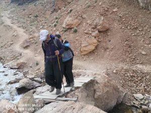 در مسیر قله علمکوه